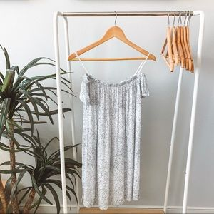 Anthropologie Cloth & Stone Off the Shoulder Dress